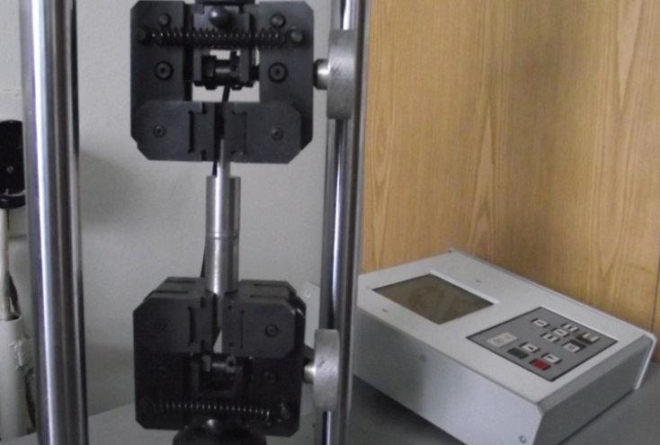Статические испытания на растяжение различных материалов